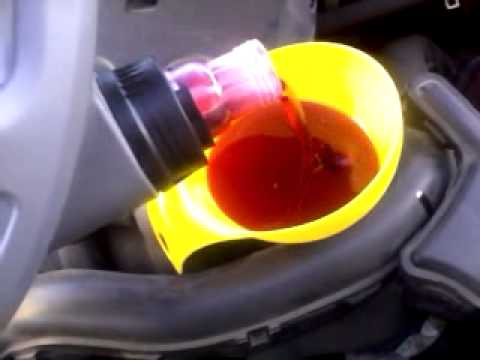 Automatic Transmission Fluid >> Nissan Note 1.6 ATF Automatic Transmission Fluid change - YouTube