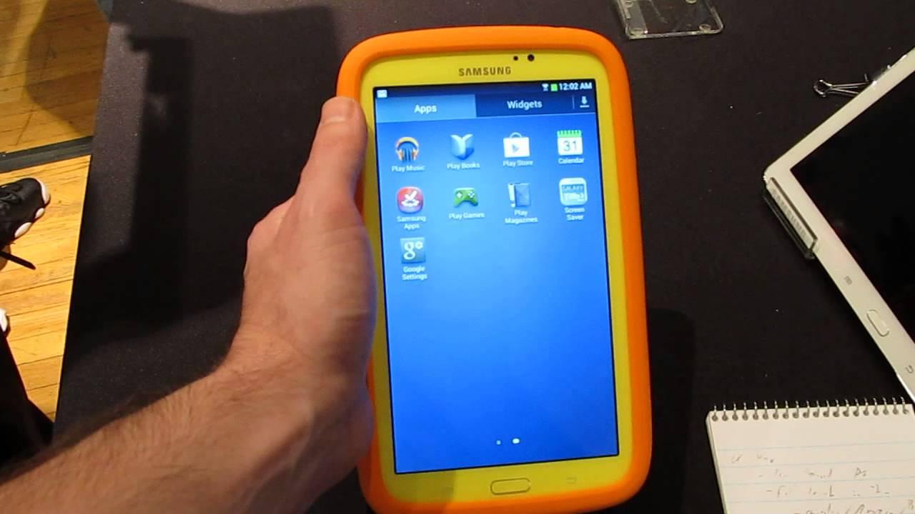 Samsung Galaxy Tab 3 70 Kids Tablet