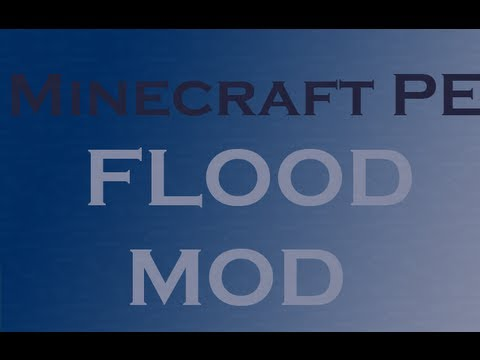 Minecraft PE mod review - flood mod
