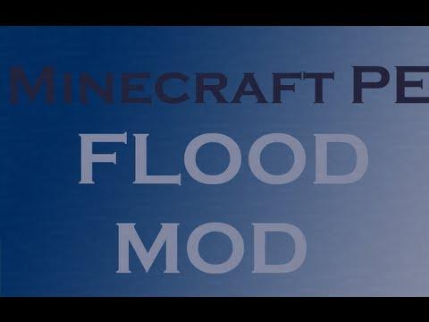 Minecraft PE mod review - flood mod
