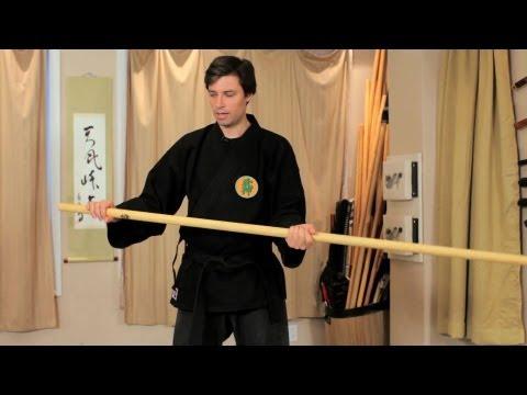 Bo Furi Gata from Bojutsu Training   Ninjutsu Lessons Image 1