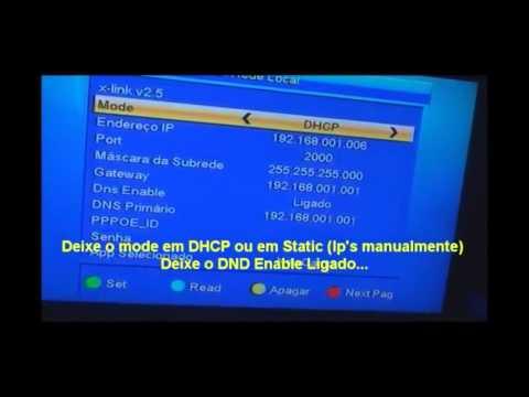Configurando CS Liso Azamerica s806 s807 s810 s810b Sky Claro Vivo Oi HD