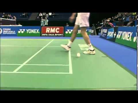 QF - MS - Jan O Jorgensen vs Peter Hoeg Gade - 2012 Yonex French Badminton Open