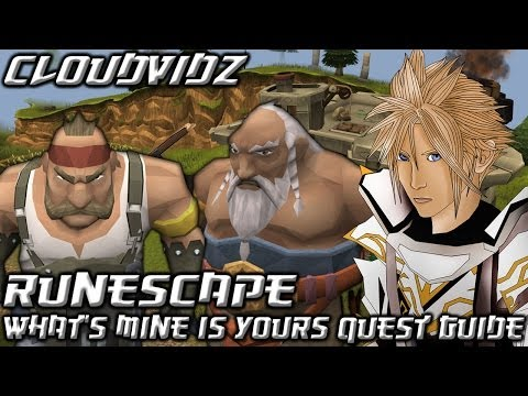 Runescape What's Mine Is Yours Quest Guide HD