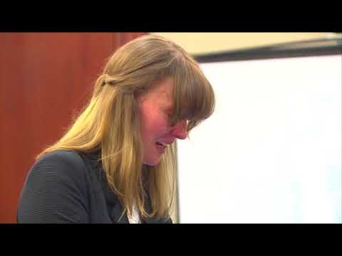 Former MSU volleyball player talks about self-blame during Nassar sentencing