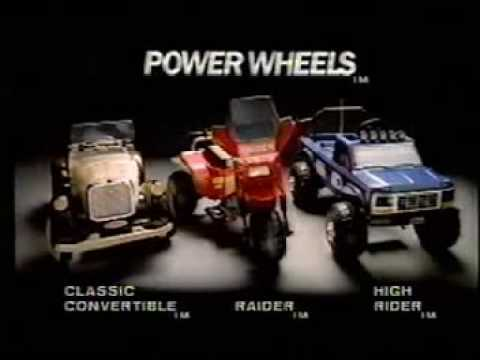 PowerWheels Commercial
