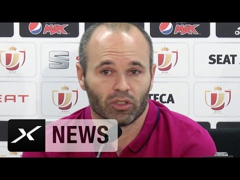 "Andres Iniesta: ""Europa-League-Sieg gibt Sevilla einen Schub"" | FC Barcelona - FC Sevilla"