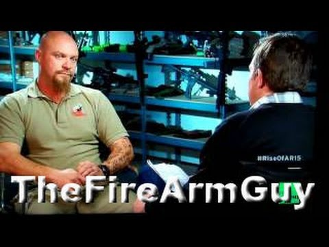 "James Yeager on CNBC ""The Rise of the AR15"""