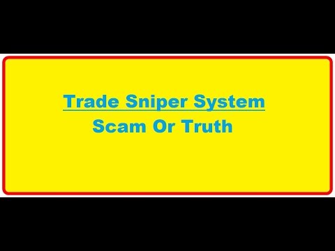 Trade Sniper- Trade Sniper Scam Or Truth. Unbiased Review