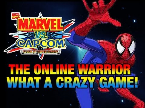 MARVEL VS CAPCOM: The Online Warrior Episode 12 'WHAT A CRAZY GAME'