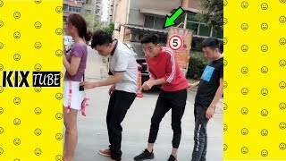 Watch keep laugh EP387 ● The funny moments 2018
