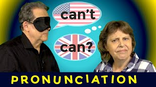 How to say CAN and CAN'T in British and American English