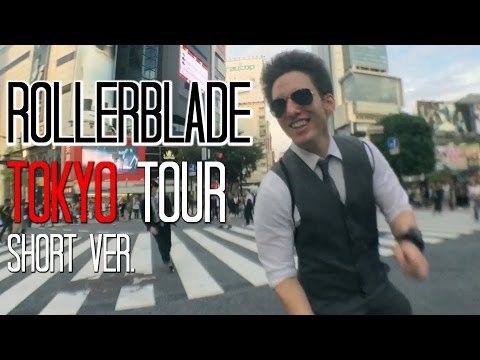 ROLLERBLADE through JAPAN | Tour to TOKYO TOWER |  �京をローラーブレード����