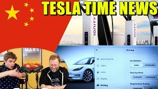 Tesla Time News - China, Charging and Chill! and more!!