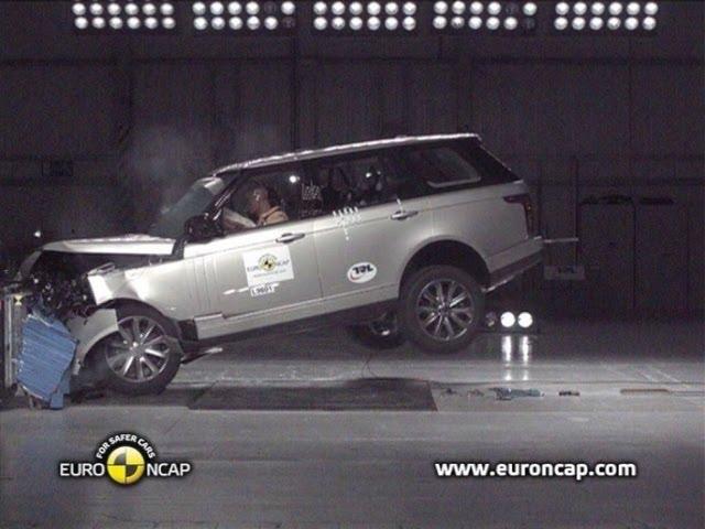 2013 Range Rover CRASH TEST - YouTube