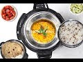 Cosori Instant Pot Rice + Lentil - Daal Chawal (Pot-in-Pot method)Video Recipe | Bhavna's Kitchen