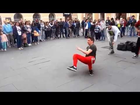 Break dance на улице