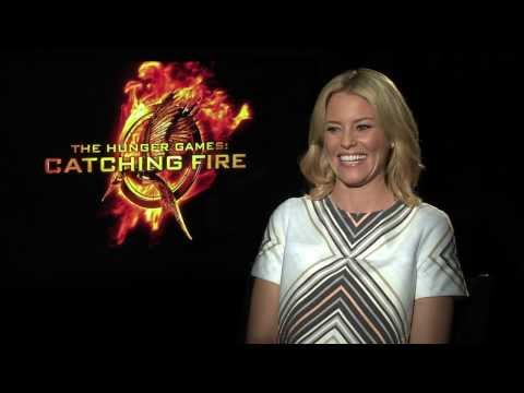 The Hunger Games: Catching Fire - Elizabeth Banks Press Day Clip