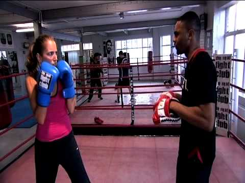 The Real Fight Club, boxing training with Jasmine Harman Image 1
