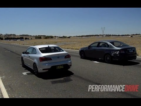 Drag race: 2014 Ford Falcon G6E vs 2014 Kia Koup Turbo