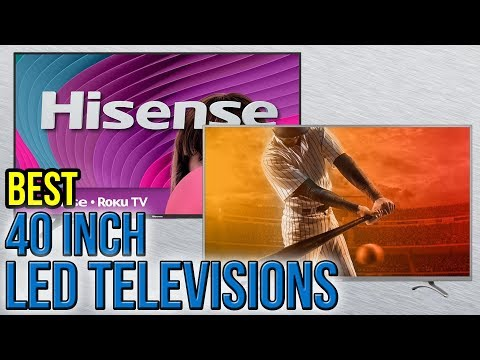5 Best 40 Inch LED Televisions 2017