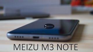 Обзор Meizu M3 Note grey (black). Обзор Мейзу М3 Ноут серый (черный)