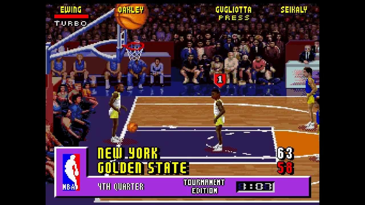 Let's Play Nba Jam Tournament