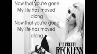 Watch Pretty Reckless Since Youre Gone video