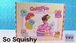 CakePop Cuties Squishy Surprise Friends Blind Bag Toy Review | PSToyReviews