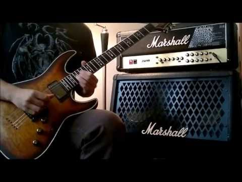 Schecter Hellraiser Extreme C-1 Demo video