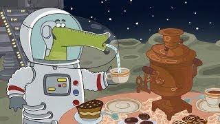 Летающие звери - Марсианское окошко (песенка из мультфильма Крокодил на Луне)