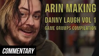 [Blind Reaction] Arin Making Danny Laugh Vol 1 - Game Grumps Laughter Compilation