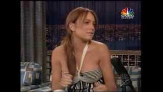 Lindsay Lohan - Late Night with Conan O