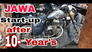 Jawa startup | after 10 year's | ncr motorcycles
