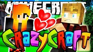 Minecraft Crazy Craft 3.0:  My GIRLFRIEND?! #3