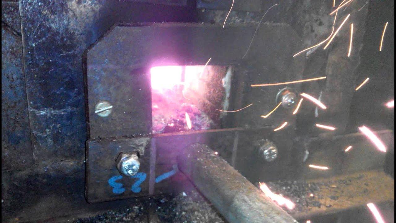 Самодельная горелка под пеллеты, опилки 19