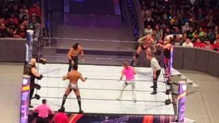 (FULL) Shinsuke Nakamura,AJ Styles, Randy Orton VS Jinder Mahal, Eric Rowan, and Dolph Ziggler