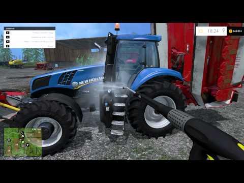 Zagrajmy w Farming Simulator 2015 na singlemultiplayer Między nagraniami 2 2 timelapse