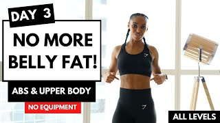 DAY 3 - LOSE WEIGHT - EXERCISES TO LOSE BELLY FAT (14 Day Exercise Challenge)