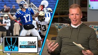 Phil Simms ranks 2019 NFL Draft QBs | Chris Simms Unbuttoned | NBC Sports