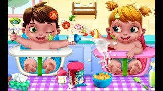 Adorable Kids Care Play | Baby Twins Babysitter - Play Dress Up, Care Games For Kids