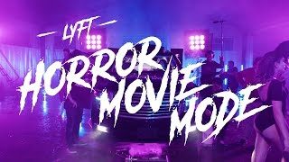 Lyft Horror Movie Mode