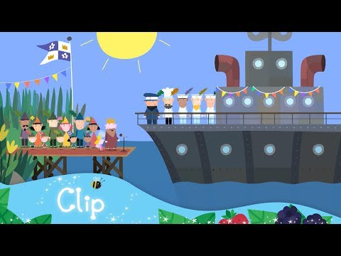 Ben and Holly's Little Kingdom - Elf Boat Launch