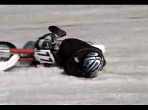 Motorcycle Ice racing WIPEOUTS, COLORADO