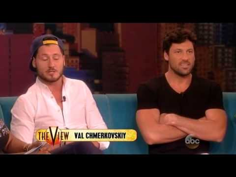 Maksim & Valentin Chmerkovskiy on The View