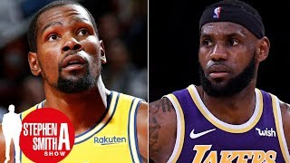 Why isn't Kevin Durant held to same standard as LeBron James? | Stephen A. Smith Show