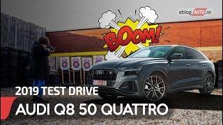 2019 AUDI Q8 50 TDI QUATTRO 286 CP TT8 car review | eblogAUTO