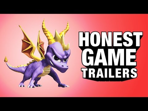 SPYRO THE DRAGON (Honest Game Trailers)
