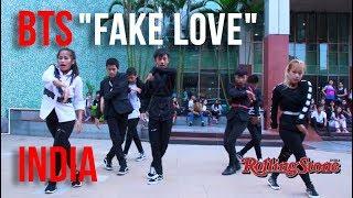 [KPOP IN PUBLIC | INDIA] BTS (방탄소년단) - 'FAKE LOVE' by BORN UNIQUE