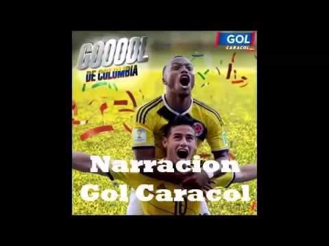 Golazo James Rodriguez Narration Colombia vs Uruguay 2-0 World cup brazil 2014